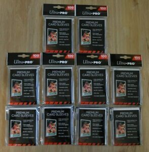 Ultra Pro Premium Card Sleeves 1000 Hüllen clear 66x94mm für Magic MTG Pokemon