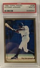 Alfonso Soriano 1999 Topps Traded RC Rookie PSA MINT 9