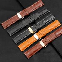 ZLIMSN Genuine Leather Watchband 16mm18mm 20mm 22mm 24mm Watch Band Universal