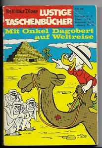 ERSTAUFLAGE Lustige Taschenbücher Nr.10 - Mit Onkel Dagobert auf Weltreise