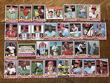 1976 PHILADELPHIA PHILLIES TOPPS Complete MLB Set 30 Cards SCHMIDT CARLTON BOONE
