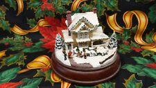 """Hawthorne Village Victorian Lights"""" Winter Memories"""" 79265 Nib Great Details"""