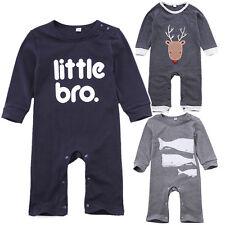 Newborn Baby Girl Boy Clothes Infant Bodysuit Romper Jumpsuit Playsuit Outfits