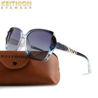 KEITHION Fashion Oversized Designer Vintage Retro Ladies Polarized Sunglasses