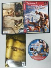 God of War (Greatest Hits) Playstation 2 PS2 CIB COMPLETE