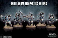 Astra Militarum Tempestus Scions Command Squad Warhammer 40k NEW