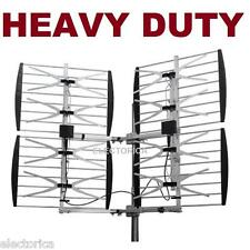 8 BAY HEAVY DUTY MULTI-DIRECTIONAL VHF UHF OUTDOOR HD TV ANTENNA OTA 8BAY OTA
