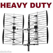 8 BAY HEAVY DUTY MULTI-DIRECTIONAL VHF UHF OUTDOOR HD TV ANTENNA OTA 8BAY OTA
