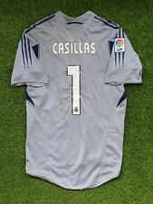 real madrid iker casillas 2004 2005 goalkeeper shirt jersey camiseta magila