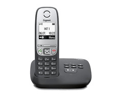 Siemens Gigaset a415a/a 415 a Analogico Telefono senza fili con NERO AB