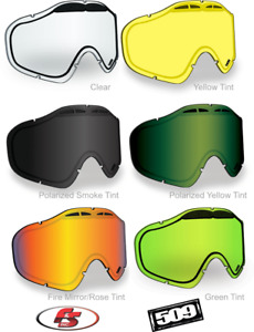 NEW 509 SINISTER X5 IGNITE HEATED Snowmobile Goggle LENS