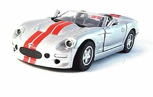 SHELBY SERIES-1 SILVER NEWRAY 1/32 DIECAST CAR MODEL,CAR COLLECTOR'S MODEL ,NEW