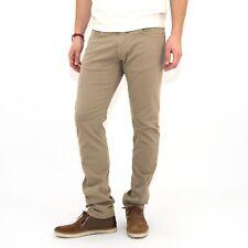 Jeans in cotne MARLBORO CLASSICS uomo pantalone regular tapered beige 5024
