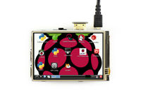 3.5inch HDMI LCD Resistive Touch Screen IPS Display 480x320 for all Raspberry Pi