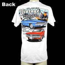 Da Uomo Dodge Charger T Shirt Retrò 66 ORIGINALI American Classic Muscle Car Camicie