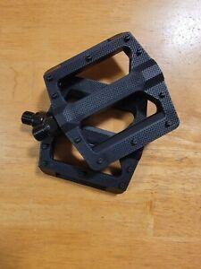 """OEM PC BMX Bike Platform Pedals 9/16"""" BMX Black"""