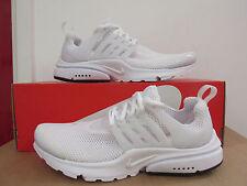 Hombre Nike aire presto blanco zapatillas Running 848132 100 40
