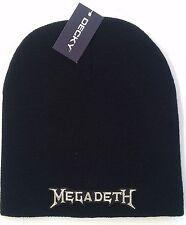 MEGADETH LICENSED BEANIE SKULL CAP  ROCK metal NEW! t-shirt