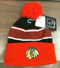Chicago Blackhawks NHL Beanie Stocking Cap, Youth Size, NWT