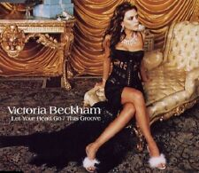 Victoria Beckham Let your head go / Groove 4 REMIXES CD Single SPICE GIRLS SEALD