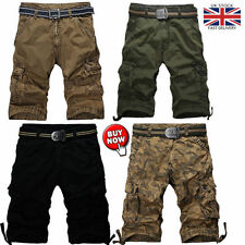 Cotton Cargo, Combat Loose Fit Big & Tall Shorts for Men