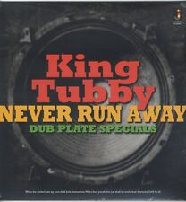 KING TUBBY - Never Run Away - Dub Plate Specials NEW VINYL LP £10.99 SEALED