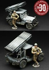 FIGARTI WW2 AMERICAN ETA-048 U.S. ARMY ROCKET JEEP SET WINTER VERSION MIB
