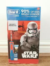 Oral-B Star Wars Kids Stages Electric Rechargeable Toothbrush 3yrs+ New