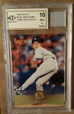 1995 Select #251 Hideo Nomo Rookie Card w/ Jersey Swatch Graded Gem Mint 10