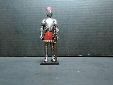 Medieval Knight Figurine Armor Sword Feather Helmet WU74416AB NIB