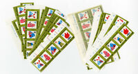 Korea Stamps # 986A XF OG NH Lot of 35 Strips Fresh Clean Scott Value $192.50