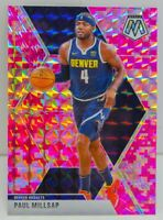 Paul Millsap 2019-20 CAMO PINK MOSAIC PRIZM Card #181 Denver Nuggets SP ??