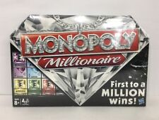 Monopoly Millionaire Board Game 2012 Parker Brothers New Factory Sealed
