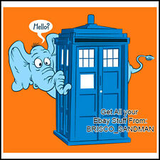 Fridge Fun Refrigerator Magnet DOCTOR WHO TARDIS: HORTON HEARS A WHO Dr. Seuss