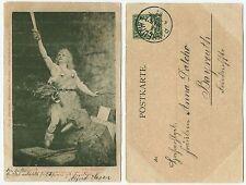 33751 - Ferd. Leeke: Jung Siegfried - Ansichtskarte, gelaufen Bayreuth 6.3.1901