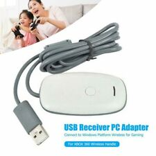 USB Wireless Gaming Receiver Adapter For XBOX 360 PC Handles Controller Windows