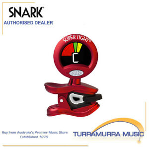 Snark ST2 Tight Clip On Chromatic All Instrument Tuner & Metronome WST2 Red