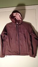 Columbia Convert Boardwear Brown Hooded Jacket, Womens Lg.