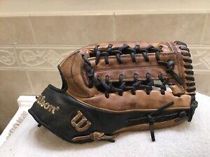 "Wilson A2K KP92 12.5"" Kirby Puckett Baseball Glove Right Hand Throw"