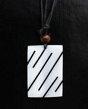 Collier ethnique avec pendentif nacre - Bijoux fantaisie pas cher -BB581