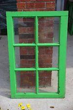 Vintage 6 Pane Wooden Windows