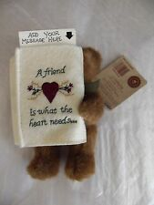 BOYDS Bears JODIE A friend is what the heart needs... Bear - Gift Card Holder