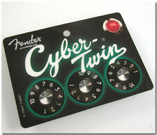 FENDER GUITAR CYBER-TWIN INNOVATE...DON'T EMULATE LAMINATED EVENT ORIGINAL PASS