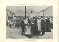 1901 Royal Visit Finsen Institute Treatment Of Lupus Aston Villa Everton