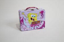 """Spongebob Metal Lunch Box """"Wonders of the Sea"""""""