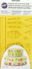 Wilton gum paste mold birthday design