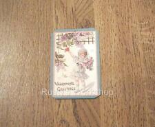 Reproduction ANTIQUE Valentine Girl HANG / WRIST TAGS for Your DOLLS #2