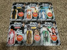 Star Wars Retro Collection Figure 6 Set Kenner NEW Wave 1