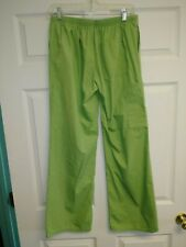 Women's Sb Scrubs Pants Size Xs. Good Condition. Green. Elastic waist