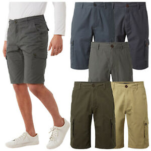2021 Craghoppers Mens Thallon Cargo Lightweight Shorts Casual Outdoor Pants
